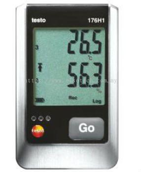 Testo 176 H1 - Temperature and humidity data logger