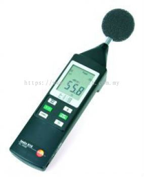 Testo 816 - Sound level meter