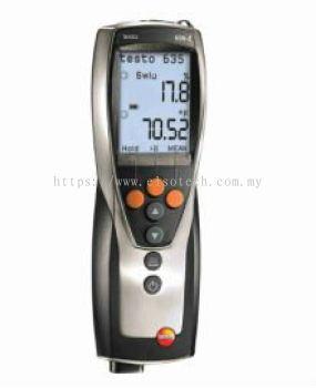testo 635-2 - Temperature and moisture meter