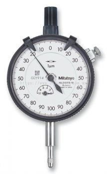 MITUTOYO 	2109S-10  DIAL INDICATOR .2/1 0-100-0 .001MM
