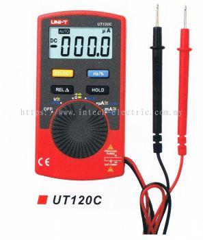 UNI-T UT120C POCKET-SIZED DIGITAL MULTIMETER C/W CASING