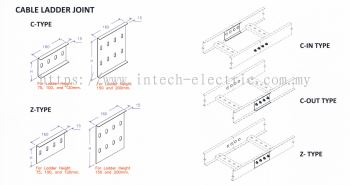 Ladder Accessories - Cable Ladder Joint
