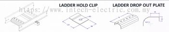 Ladder Accessories - Ladder Hold Clip n Drop Out Plate