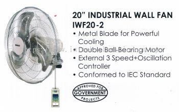 """MIND IWF20-2 20"""" HEAVY DUTY INDUSTRIAL WALL FAN"""
