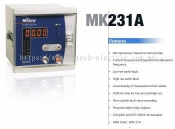 MIKRO MK231A DEFINITE TIME EARTH FAULT RELAY