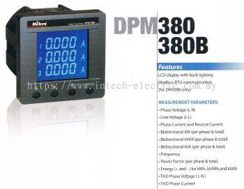 MIKRO DPM380B-415AD DIGITAL POWER METER : 90~415VAC OR 100~DC300V
