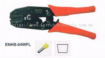 Enzio Hand Crimping Tool ENHS-04WFL Trapezoid Crimping L220mm