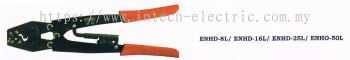 Enzio Hand Crimping Tool ENHD-8L / 16L / 25L / 50L Indent Crimping L270mm~365mm