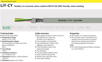 Helukabel Data & Signal Cable-LiYCY