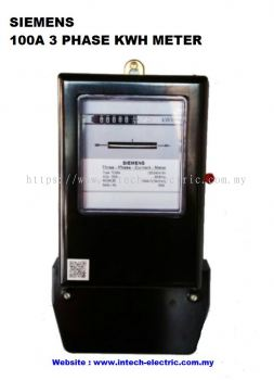 100A 3 PHASE KWH METER
