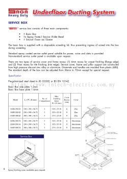 Saga Underfloor Ducting System