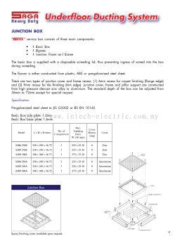 Saga Underfloor Ducting System-1
