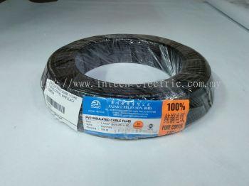 Fajar 30/0.25mm��1.5mm��x 1 Core Flexible Control Wire��Black��100meter