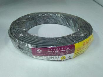 Fajar 32/0.20mm��1.0mm��x 1 Core Flexible Control Wire��Grey��100meter