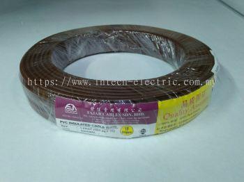 Fajar 32/0.20mm��1.0mm��x 1 Core Flexible Control Wire��Brown��100meter
