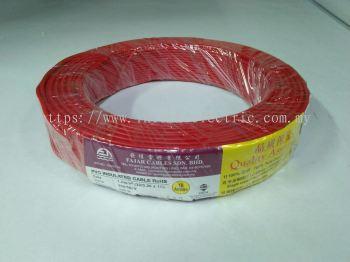 Fajar 32/0.20mm��1.0mm��x 1 Core Flexible Control Wire��Red��100meter