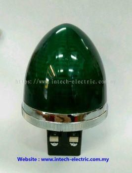 Ckc PLB-30 30mm Round Type Transformer Pilot Lamp 240vac��Green��