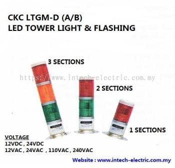 CKC LTGM-D LED TOWER LIGHT WITH FLASHING