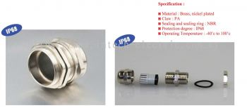 InkedBrass Cable Gland IP68