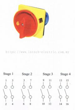 CIKACHI- ON-OFF POWER SWITCH 25A, 32A, 63A (DIMENSION)
