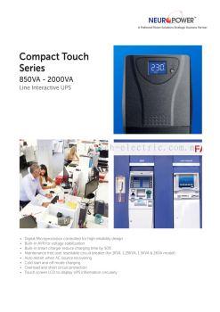 Line Interactive UPS 850Va ~ 2000Va
