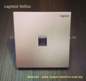 LEGRAND GALION 282461-C2 RJ45 CAT6 DATA SOCKET - CHAMPAGNE��SILVER BAR��