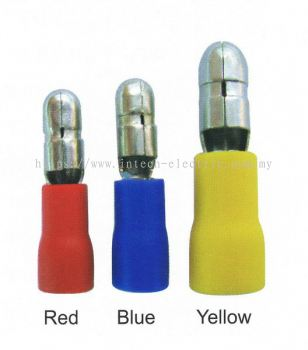 MPD Bullet Male Insulated Terminal MOQ 1000pcs