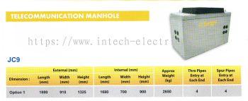 Telecommunication Manhole JC9