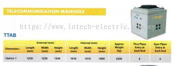 Telecommunication Manhole TTAB