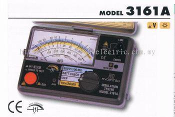kyoritsu 3161A Analogue Insulation Testers