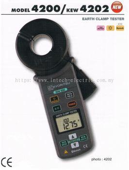 kyoritsu 4200,KEW 4202 Earth Clamp Testers