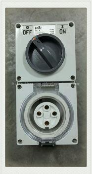 56Series 56CV416 16A 4Pin Socket