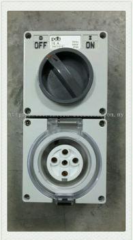 56Series 56CV516 16A 5Pin Socket