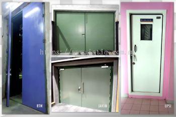 Acoustic Steel Door