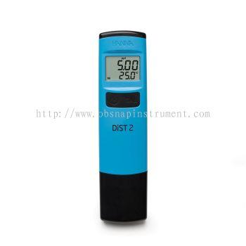 DiST® 2 Waterproof TDS Tester HI98302 (0.00-10.00 ppt)