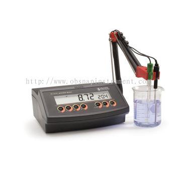 Benchtop pH Meter with 0.01 pH Resolution HI2210-01