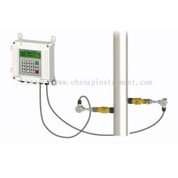 Wall mounted insertion ultrasonic flow meter TUF-2000S