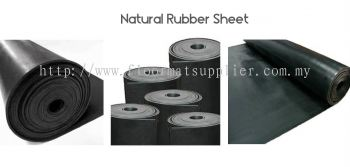 Safety Mat - Natural Rubber (Rough Surface)
