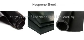 Safety Mat - Neoprene Sheet (Smooth Surface)