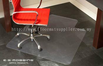 Chair Mat - Non Studded Chair Mat (Plain Backed)
