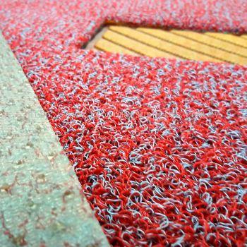 Neon Mat - Neon 3 Set (DIY Carmat - Nail Backing) - Silver Red
