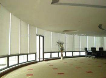Roller Blinds Conference Room