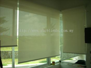 Roller Blinds Brown Colour
