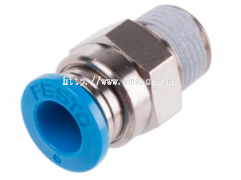 Qs-1/8-6 festo-pneumatic-straight-threaded fitting