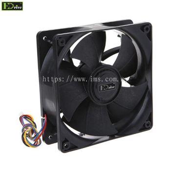 EDRIVE GH12038BL High Flow Cooling Fan 120mm X 38mm