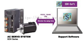 SDH-L040R30SBK (WITH BRAKE) SHIHLIN ELECTRIC 400W SERVO SYSTEM
