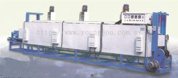 Continuous Type Hot Air Circulating Aluminum Ingot Heating Furnace