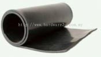 Neoprene Rubber Sheet , Size : 25mm THK x 1200mm x 5mtr