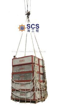 NT01) Cargo Net �C Polypropylene (PP) Rope