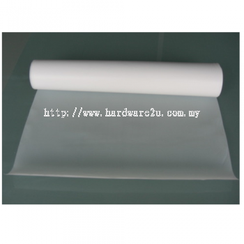 PTFE Virgin Skive Sheet(Pure White) , Size  50mm T x 300mm x 600mm